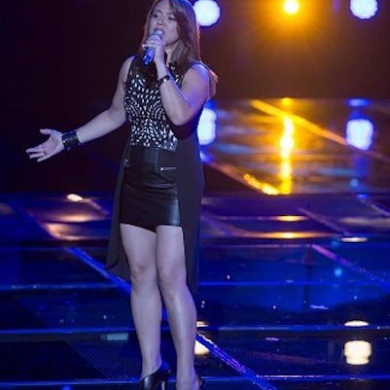 Así no te amará jamás fue la melodía que presentó María Jimena Foto:Televisa