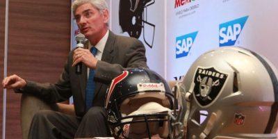 Arturo Olivé, director de la NFL en México. Foto:Notimex