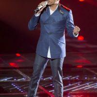 Poncho Arocha interpretó Abrázame muy fuerte en el Top 3 Foto:Televisa