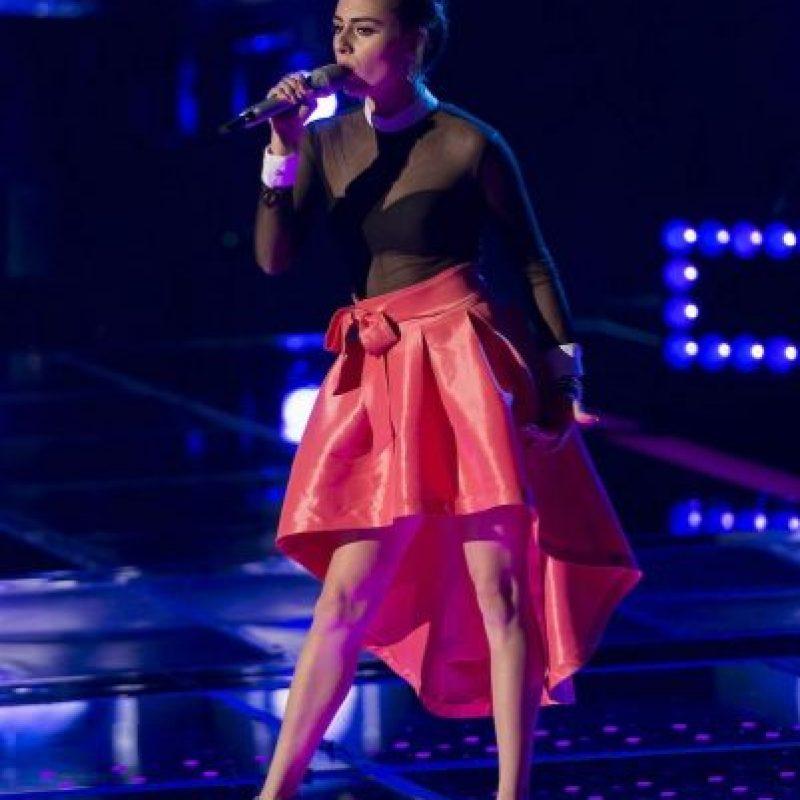 Giovanna es una de las tres semifinalistas de Los Tigres del Norte Foto:Televisa
