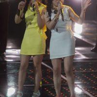 Las Melinas quedaron fuera de la competencia Foto:Televisa