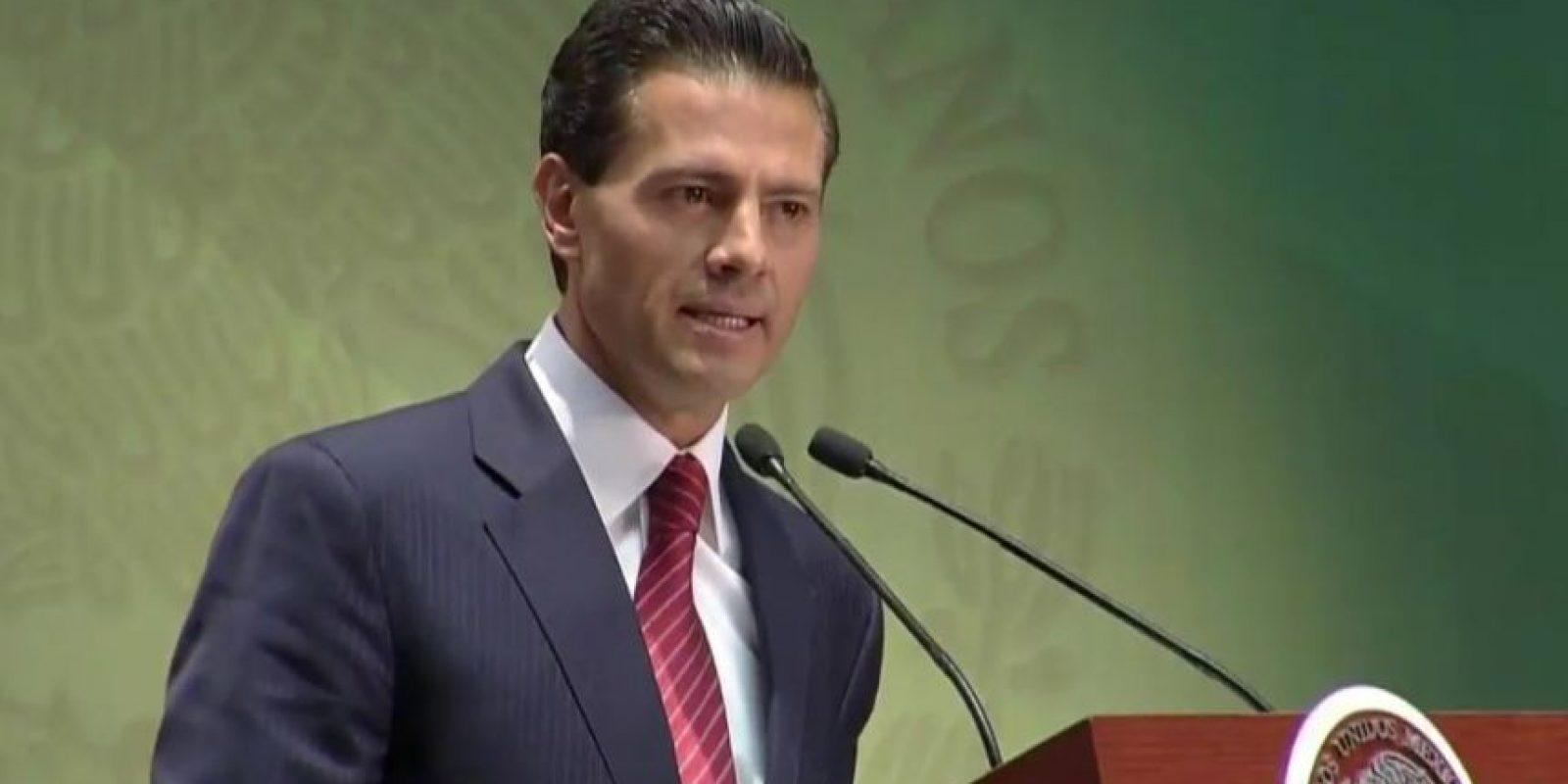 """El presidente Peña pidió perdón por el asunto de la llamada """"casa blanca"""" Foto:twitter@PresidenciaMX"""