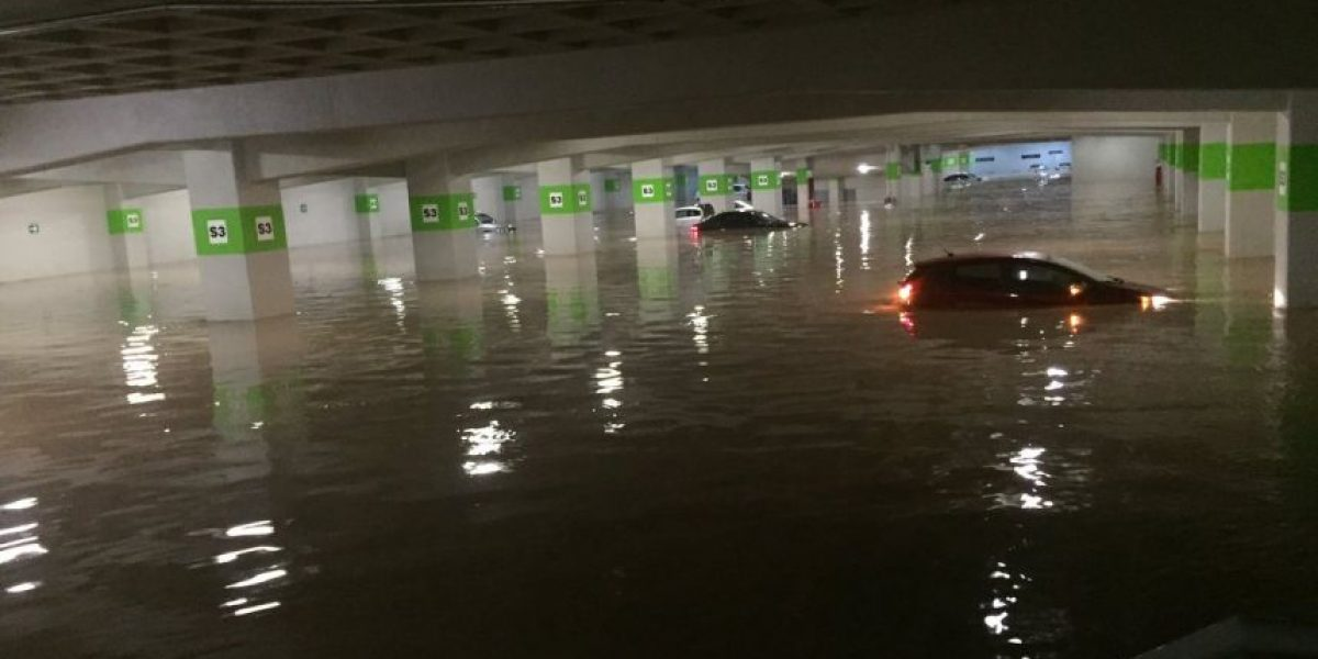 Los daños que dejó la lluvia del lunes en la CDMX