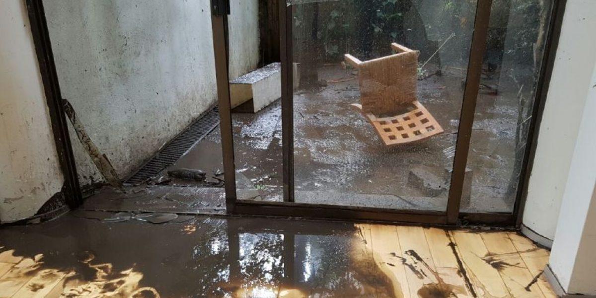 Caos y daños tras inundación de 6 metros en Cuajimalpa