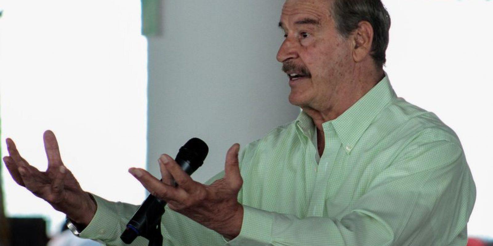 Fox pidió perdon por el maltrato a los migrantes centroamericanos Foto:cuartoscuro