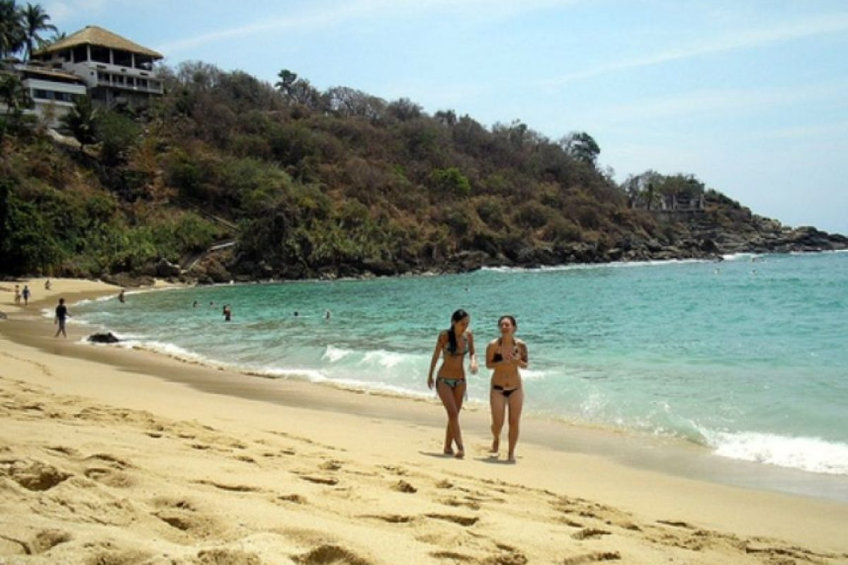 Playa Mazuntle Foto: playas México