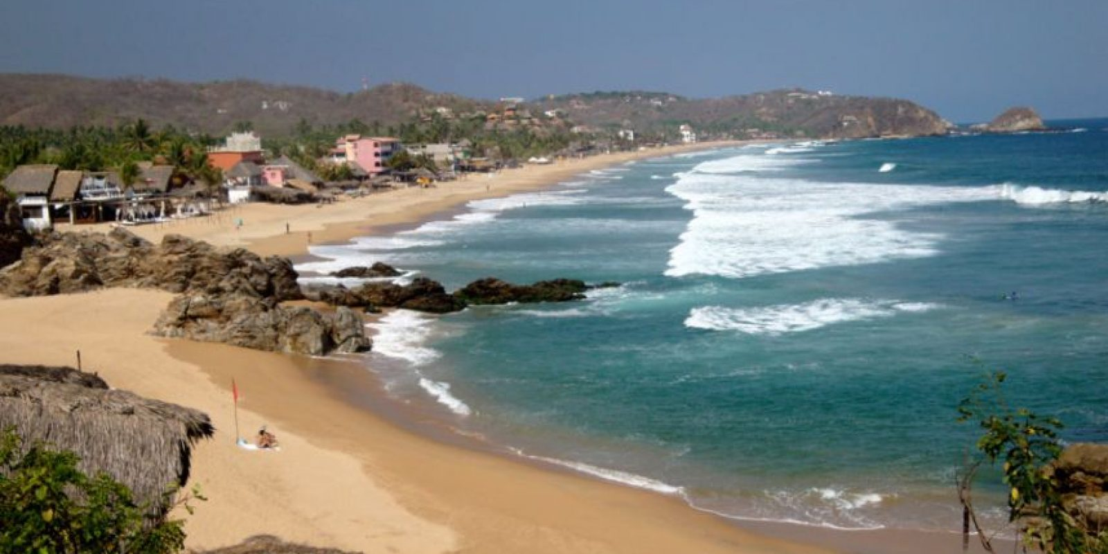 Playa Zipolite Foto:playas México