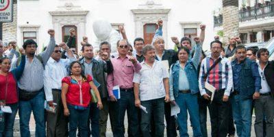 Los maestros marcharon del Metro Normal hacia la Segob Foto:Cuartoscuro