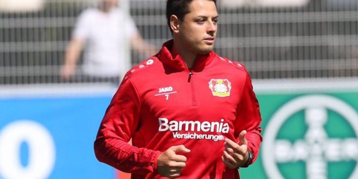 ¡Bienvenido a casa! Leverkusen, feliz por regreso de Chicharito