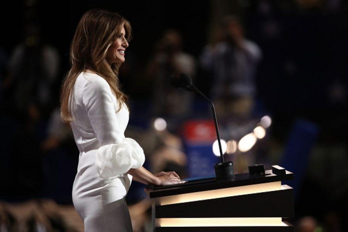 En 2006 se convirtió en madre de Barron, su único hijo con Trump Foto:Getty Images