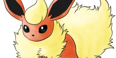 Leo: Flareon, la evolución de fuego del pokémon Evee Foto:Especial