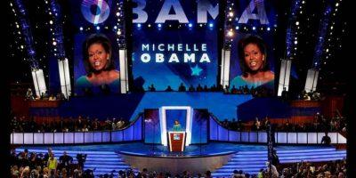 Sin embargo, la polémica se desató cuando se descubrió que las palabra son similares a las ofrecidas por Michelle Obama, durante la Convención Nacional Demócrata de 2008. Foto:Getty Images