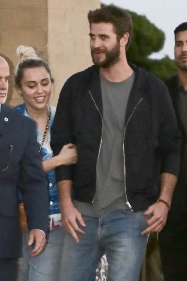 La pareja luce feliz Foto:Grosby Group