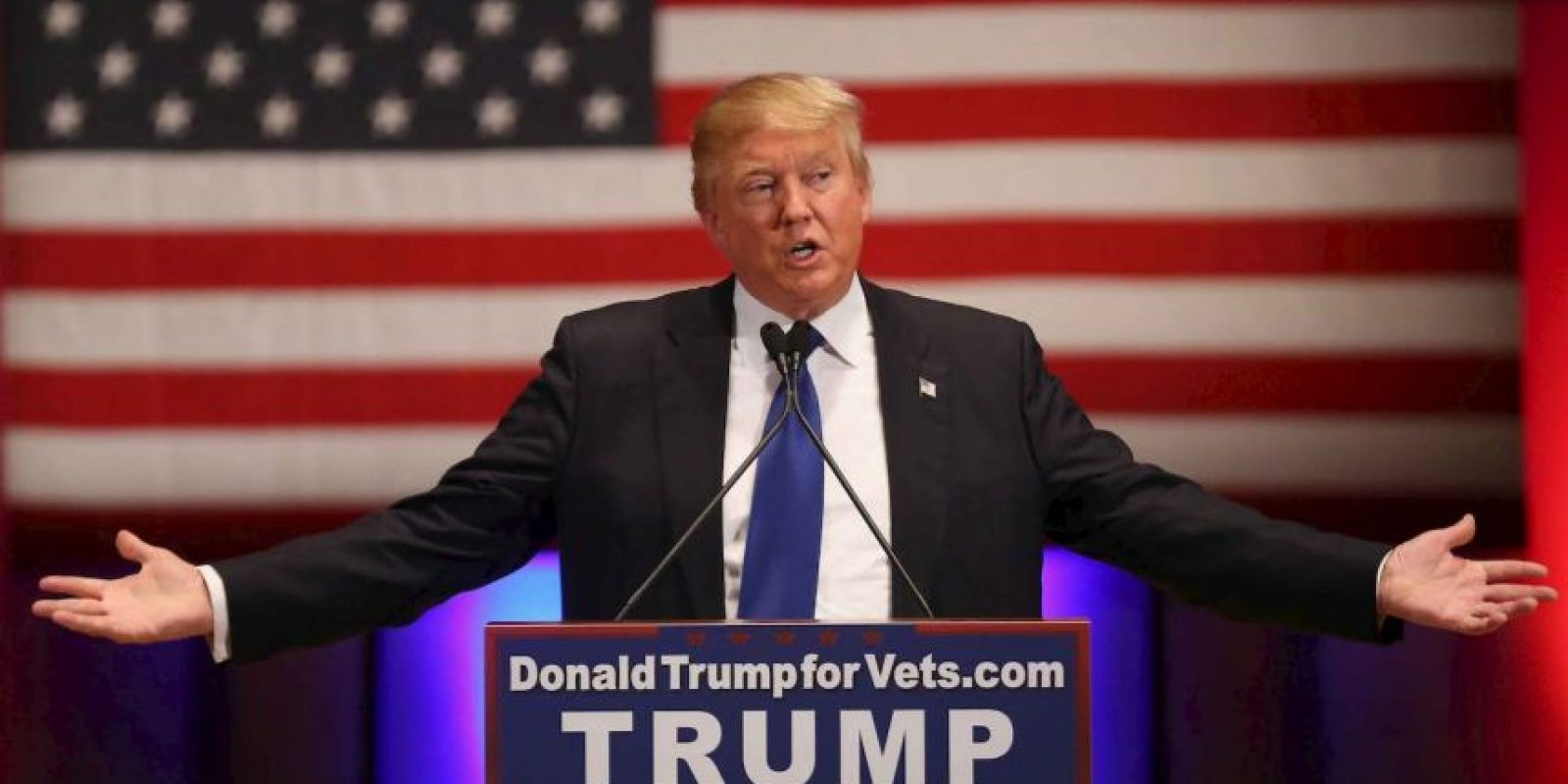 El virtual candidato presidencial, Donald Trump.