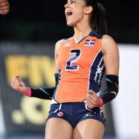 También es una de las mejores líberos del mundo. Foto:Vía facebook.com/winifer.fernandez