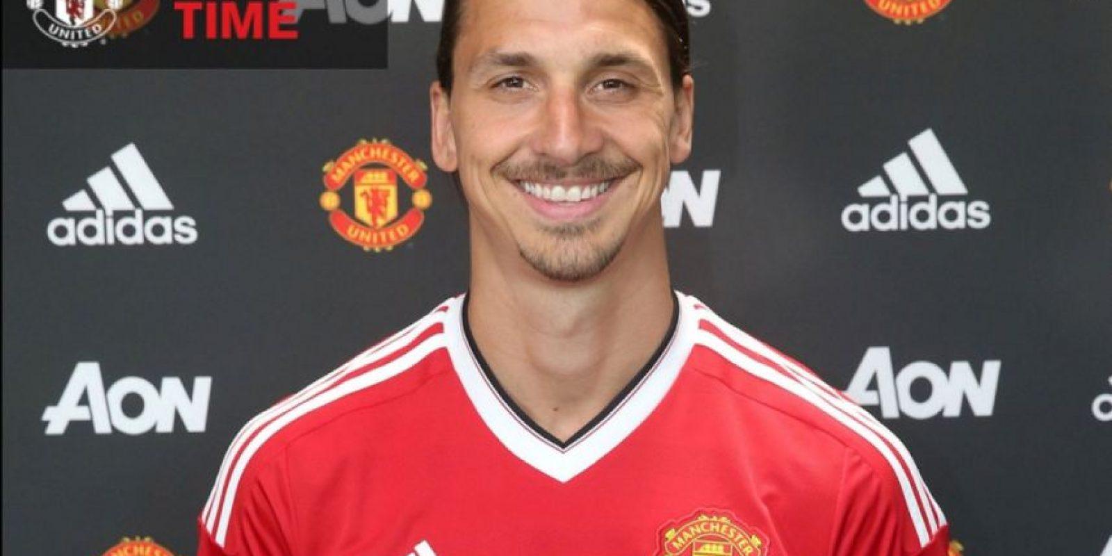 Zlatan Ibrahimovic ha sido el gran fichaje del verano europeo Foto:Twitter Manchester United