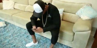 Neymar aceptó el desafío de Zuckerberg Foto:Captura de pantalla