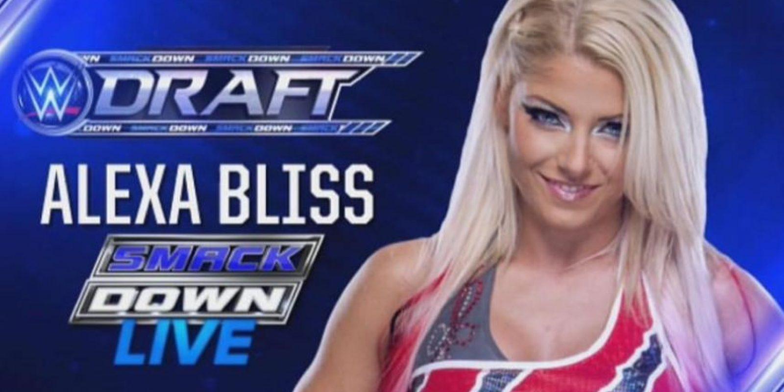 Bliss fue promovida para estar en SmackDown Foto:WWE