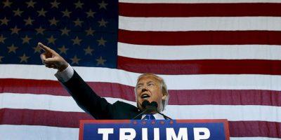 """""""Es un gran honor ser el nominado republicano a la presidencia de Estados Unidos. Trabajaré fuerte y nunca los defraudaré. América primero"""", publicó el magnate en Twitter. Foto:Getty Images"""