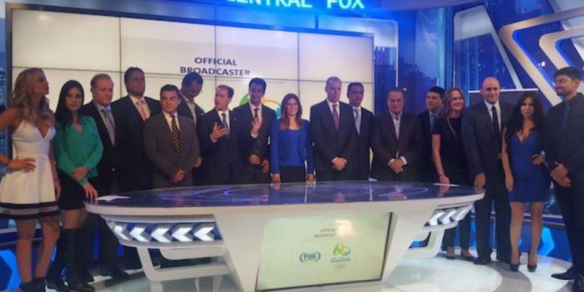 Fox Sports presenta equipo de lujo para Río 2016