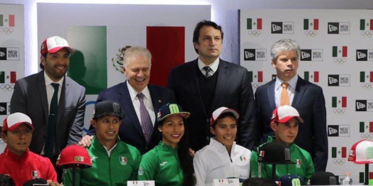 Presentan la gorra oficial de la delegación mexicana rumbo a Río 2016