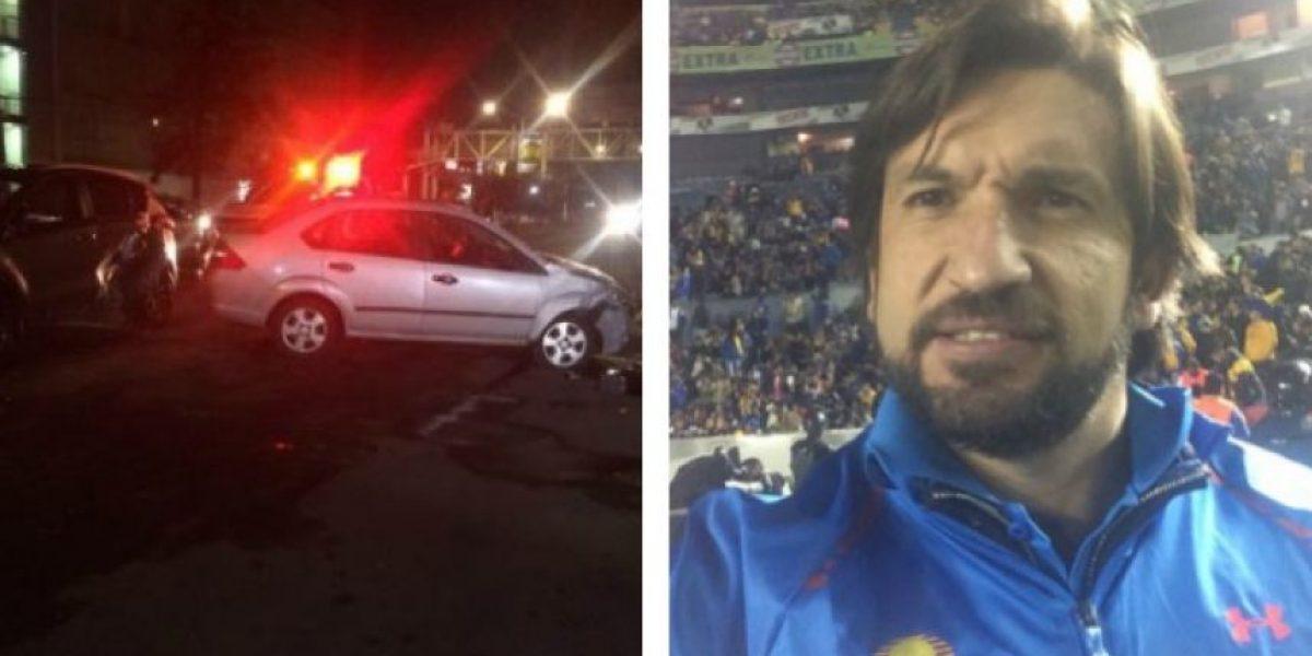 Kikín Fonseca sufrió accidente automovilístico por la madrugada