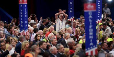 """Ostentan un orgullo patrio, tan claro como el orgullo que sienten de pertenecer al """"partido de Abraham Lincoln"""" Foto:Getty Images"""