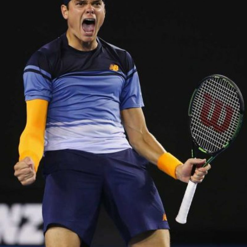 Milos Raonic (Canadá) / Ranking ATP: 7º Foto: Getty Images