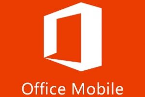 Microsoft Office Mobile Foto: Especial