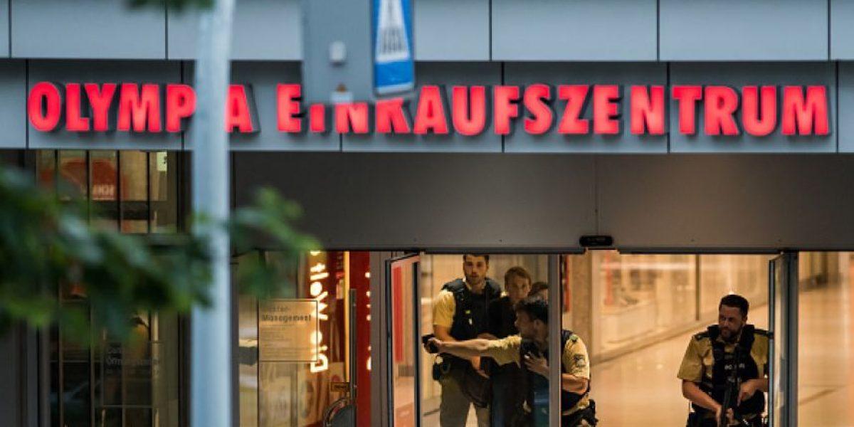Tiroteo en Munich fue obra de un solo atacante; suman 10 muertos