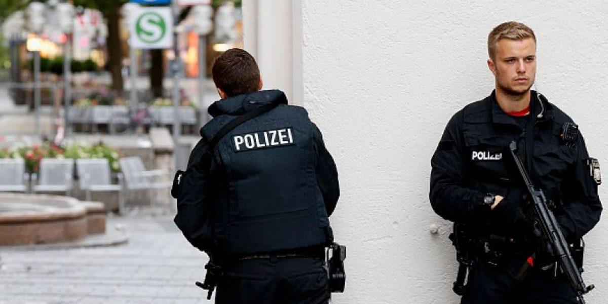 En imágenes: El agobiante operativo de la policía en Munich