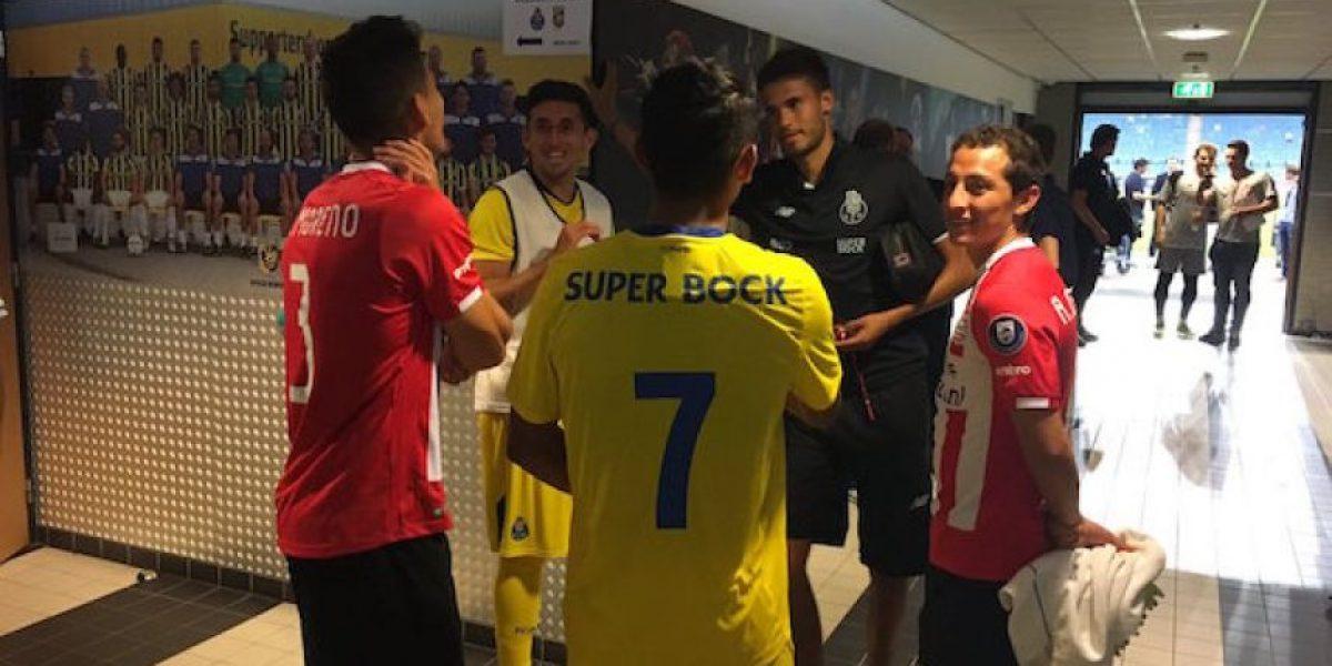 PSV supera al Porto en duelo plagado de mexicanos
