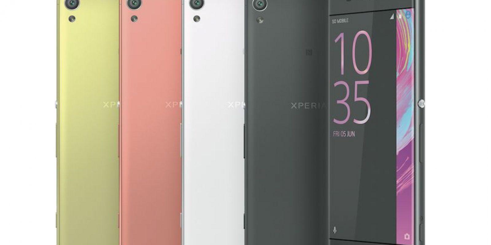 Serie X, de Sony Xperia. Foto:Cortesía Sony