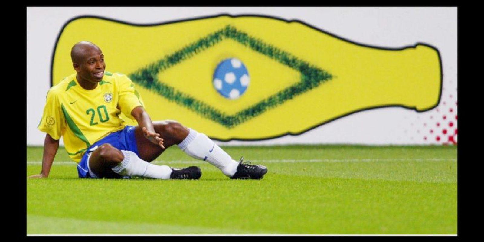 Edilson da Silva Ferreira fue campeón del mundo en 2002 con Brasil Foto:Getty Images