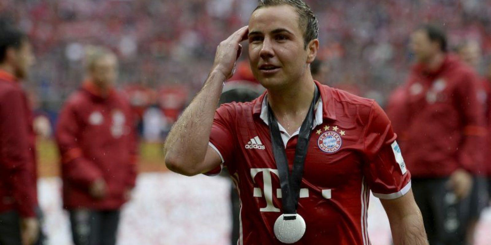 Luego de tres temporadas en Bayern Munich, Mario Gotze retorna a Borussia Dortmund Foto:Getty Images