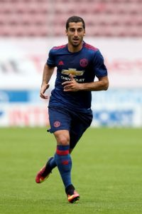 Henrikh Mkhitaryan tendrá la 22 Foto: Getty Images