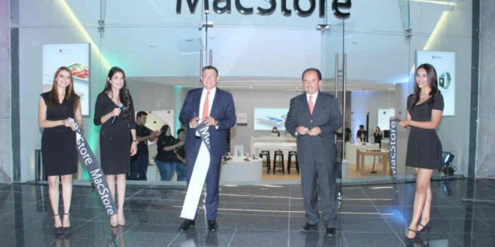 Inauguración de la tercera MacStore Foto:Israel Salazar