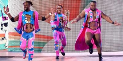 The New Day enfrenta un peligroso reto Foto: WWE