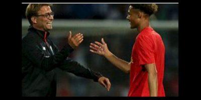 Jürgen Klopp debutó a un portero como futbolista Foto:Twitter