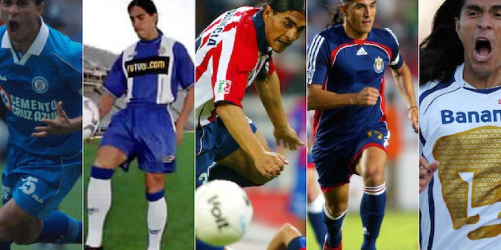 2.- Equipos: Palencia jugó para cinco equipos durante su trayectoria: Cruz Azul, Espanyol de Barcelona, Chivas, Chivas USA y Pumas Foto:Especial