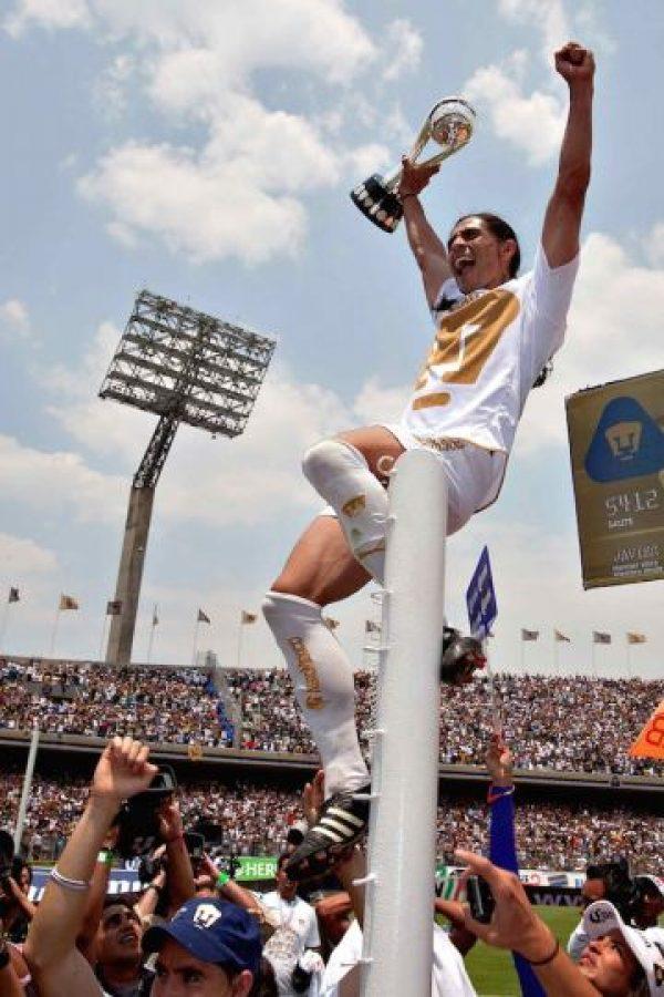 6.- Títulos: Palencia se coronó tres veces como jugador en el futbol mexicano: Invierno 1997, Clausura 2009 y Clausura 2011. Foto:Mexsport