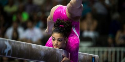 Laurie Hernández la gimnasta que causará sensación en Río de Janeiro Foto:Getty Images