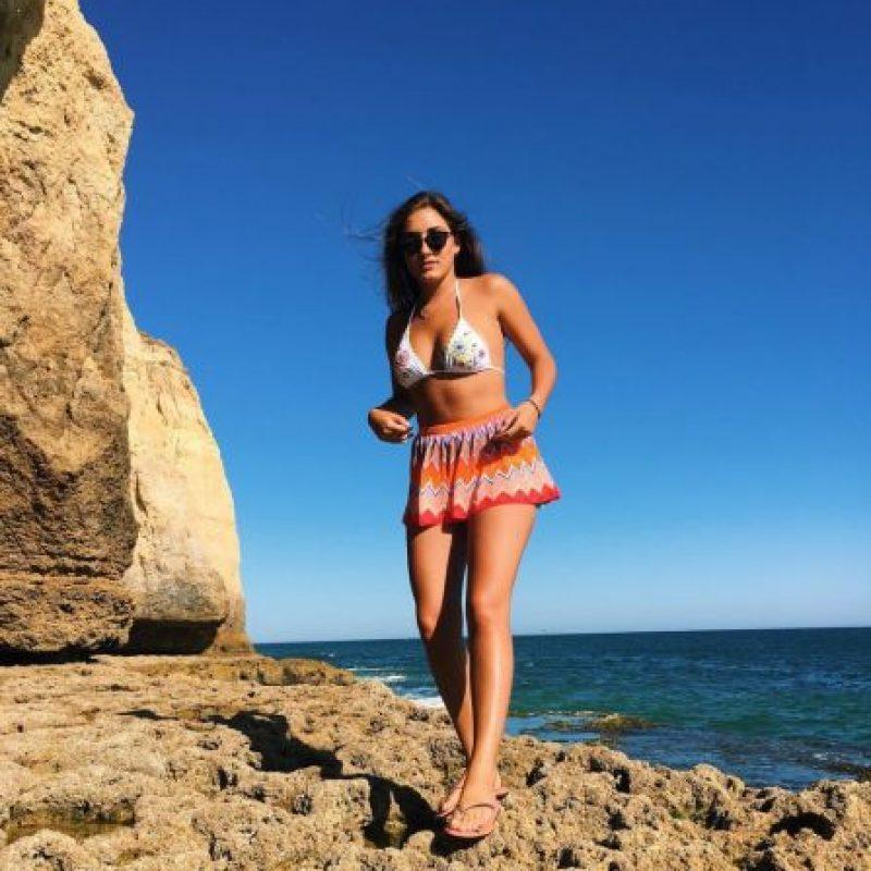 Matilde Mourinho, hija del conocido entrenador de futbol José Mourinho, disfruta de sus vacaciones junto a su novio Danny Graham y unos amigos, en Algarve, Portugal. Foto:Instagram