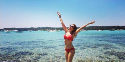 La cantante mexicana Thalía también ha aprovechado el verano para tomarse unos días de descanso al lado de su familia en algunas playas del mundo. Foto:Instagram