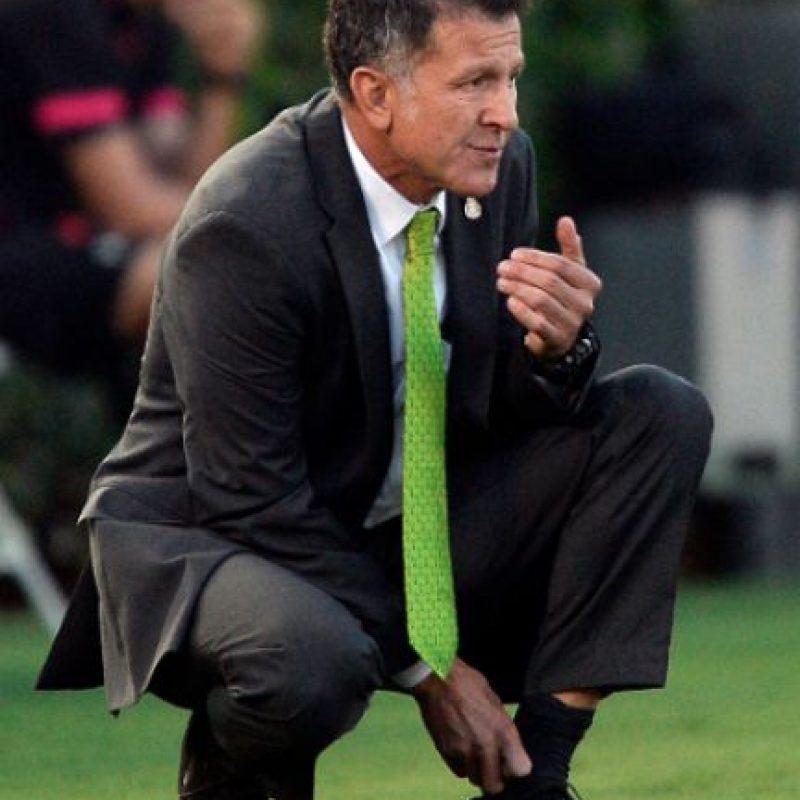 Reaparece Juan Carlos Osorio tras la goleada de 7-0 y la eliminación de la Copa América Foto:Getty Images