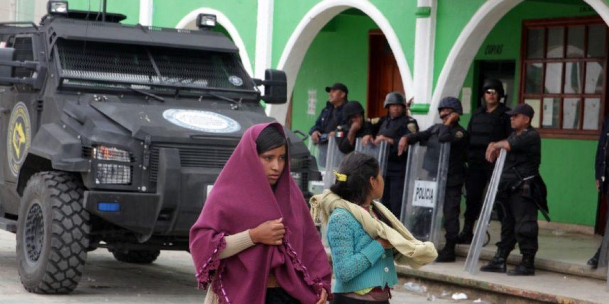 Detienen a seis personas por el asesinato del alcalde de Chamula