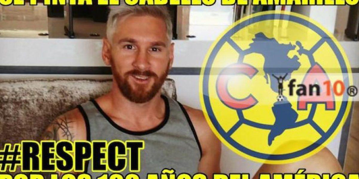 Aparecen las burlas a Lio Messi y su nuevo look