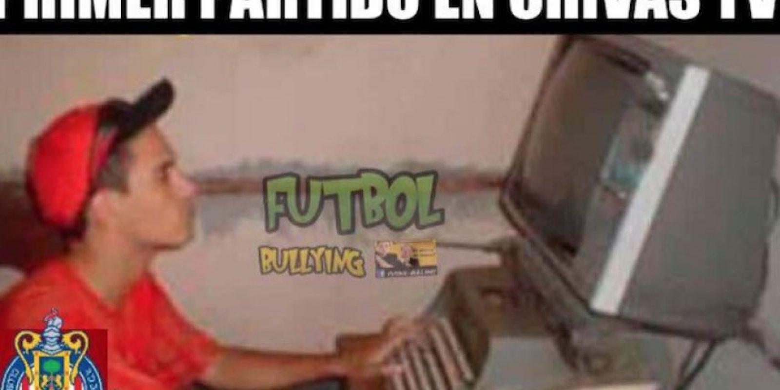 Las divertidas imágenes no descansaron en esta Jornada. Foto:Facebook