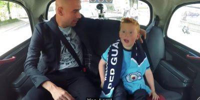 La emoción del niño es notable Foto:Captura de pantalla