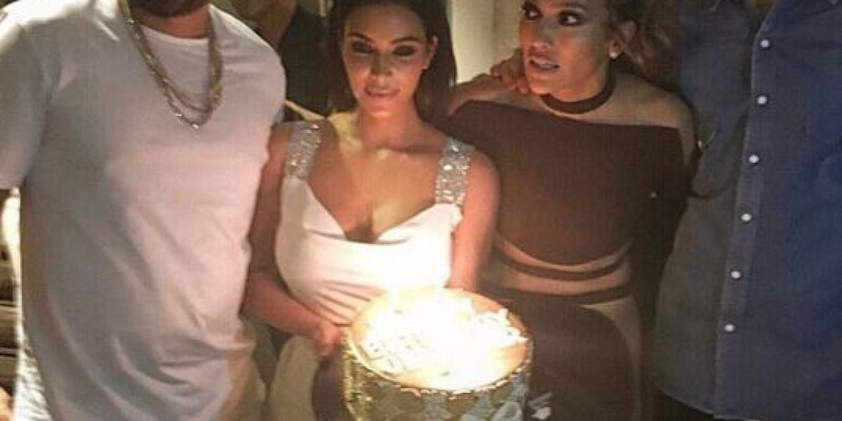 La prefiesta de cumpleaños de JLo con Calvin Harris y Kim Kardashian